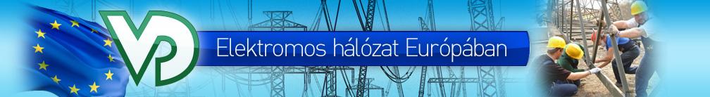 Elektromos hálózat Európában