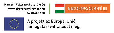 Nemzeti Fejlesztési Ügynökség - www.ujszechenyiterv.gov.hu - 06 40 638 638 - Magyarország megújul - A projekt az Európai Unió támogatásával valósul meg.